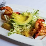 The Bistro - Grilled Shrimp, Avocado, and Greens