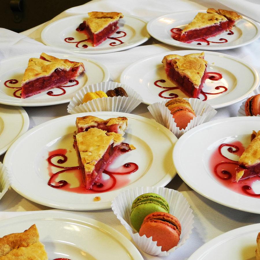 Cupcake's Corner cherry pie