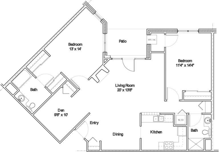 Apartment floor plan 11