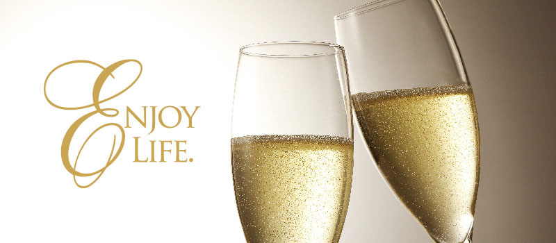 Bubbly Champagne at the Highlands